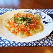 1. Portobella Mushroom Raviolis with a Pancetta