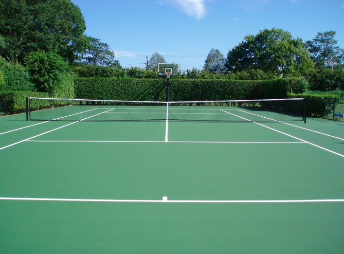 3. Inspired by... The Tennis Court