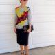1. Wear of the Week Boom + Pencil Skirt