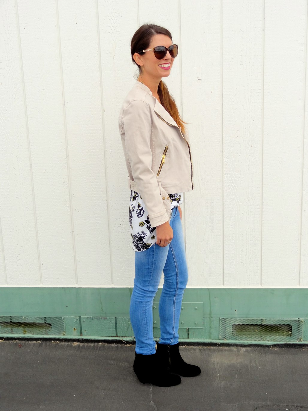 1. Wear of the Week Booties + Skinny Jeans