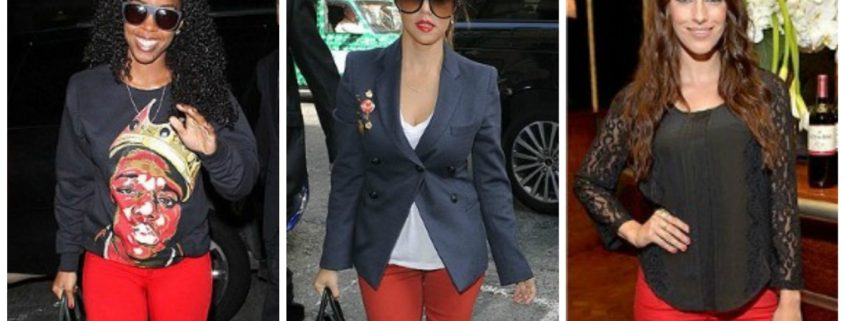 1. Wear of the Week Red Denim