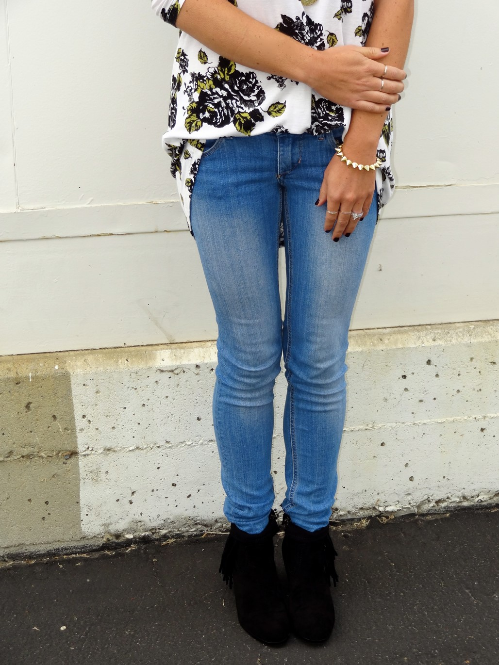 3. Wear of the Week Booties + Skinny Jeans