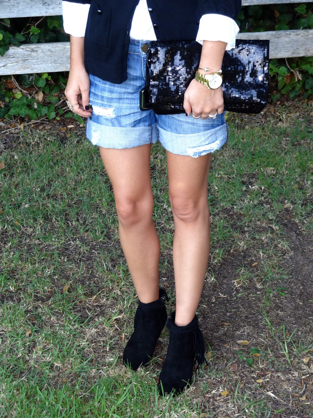 3. Wear of the Week  Work to Happy Hour Booties + Shorts