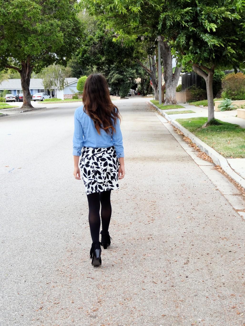 5. Wear of the Week Booties + Skirt