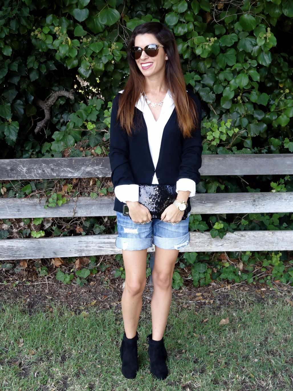 5. Wear of the Week  Work to Happy Hour Booties + Shorts