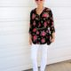 1. Wear of the Week White Pants and Floral