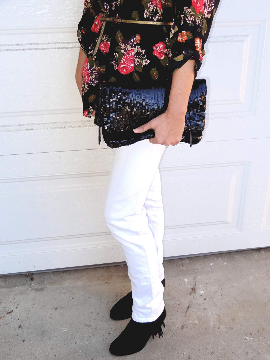 3. Wear of the Week White Pants and Floral
