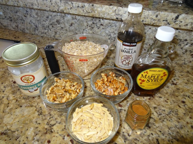 2. Maple and Honey Granola with Pecans, Walnuts, and Almonds