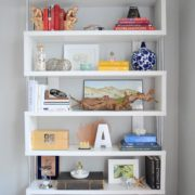 1. How to Style a Bookshelf