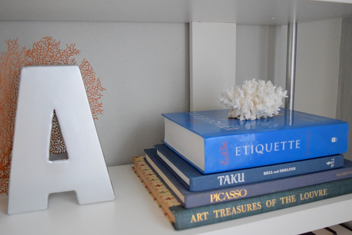 3. How to Style a Bookshelf
