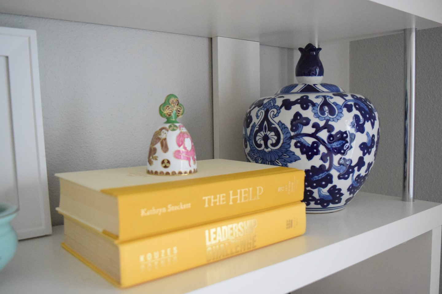 8. How to Style a Bookshelf