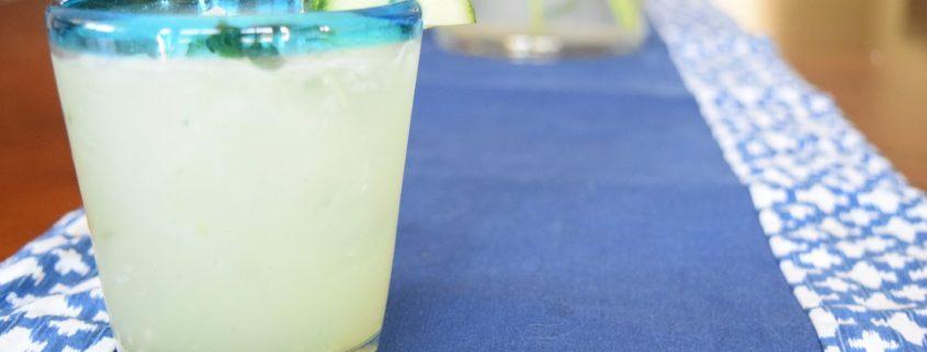 1. Bebidas Cucumber Cooler with Elderflower Liqueur