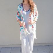 Wear of the Week: Kimono + Maxi Dress