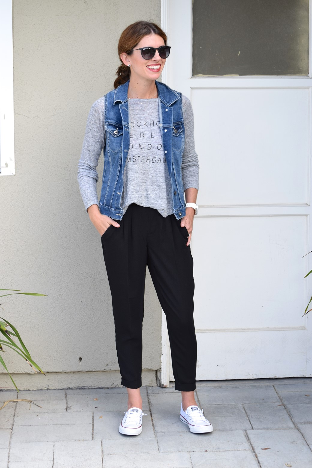 1. Wear of the Week How to Style Black Jogger Pants