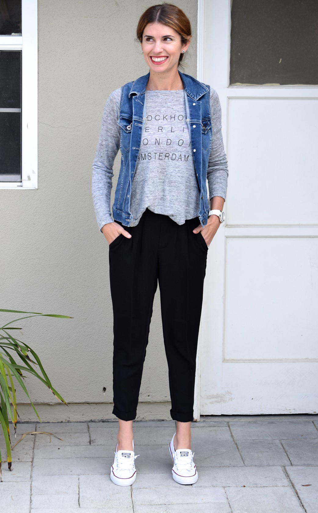 8. Wear of the Week How to Style Black Jogger Pants
